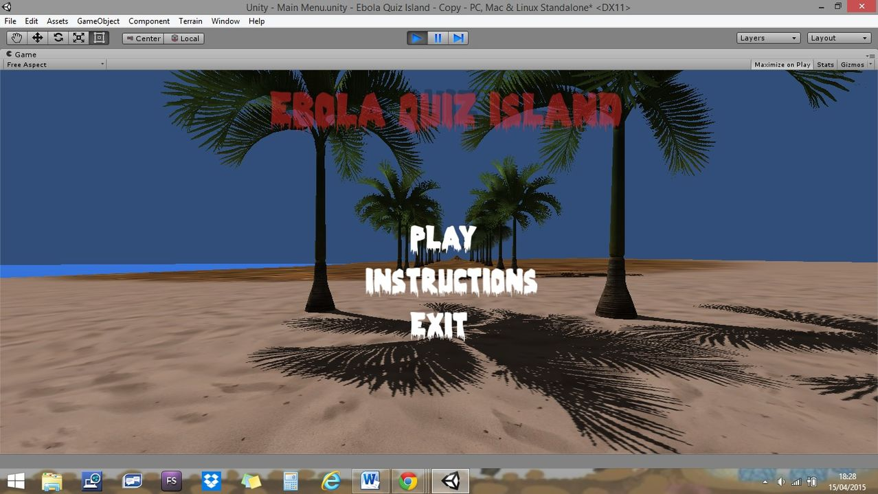 How to Create a Main Menu in Unity ~ Fullfreecoding